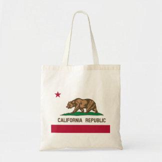 California Flag Tote Bag