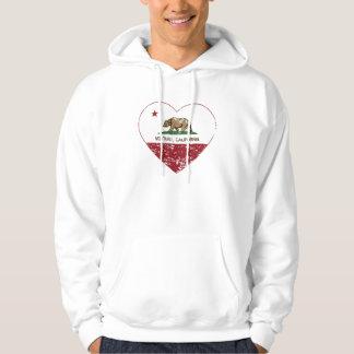 california flag ventura heart distressed hoodie