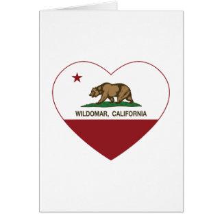 california flag wildomar heart card