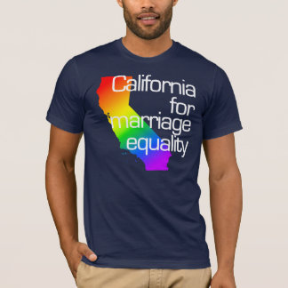 California for Marriage Equality T-Shirt