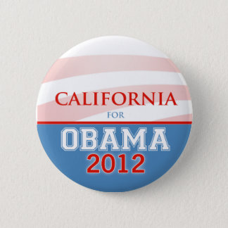 CALIFORNIA for Obama 2012 2 Inch Round Button