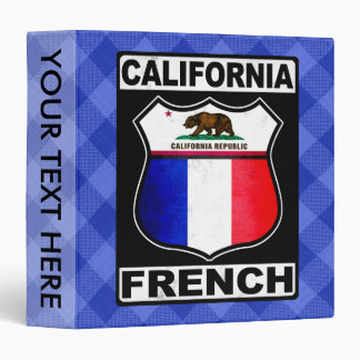 California French American Binder