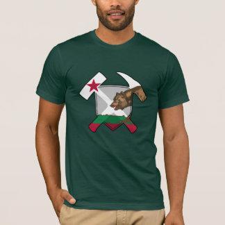 California Geologist- Rock Hammer and Shield T-Shirt