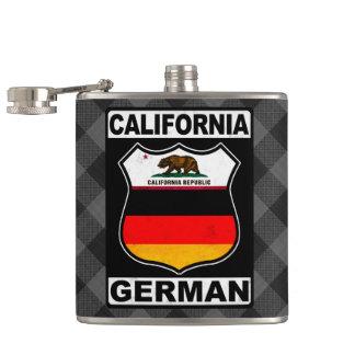 California German American Flask