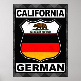 California German American Print
