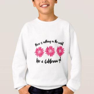 California girl sweatshirt