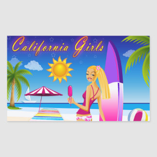 California Girls Sticker