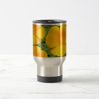 California Golden Poppy Travel Mug