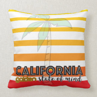 California Golden state of mind Throw Pillow