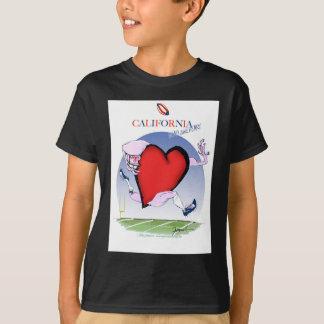California head heart, tony fernandes T-Shirt