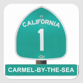 California Highway 1 Carmel By The Sea Stickers