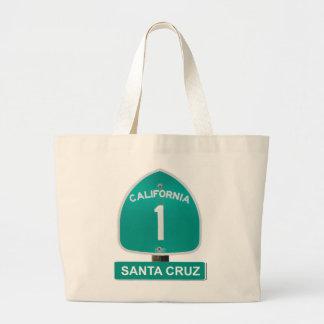 California Highway 1 Santa Cruz Tote Bag
