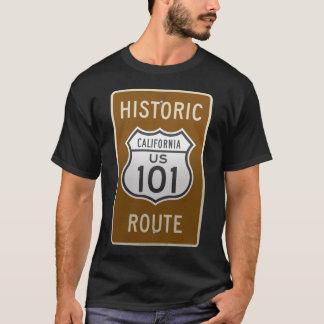 California Historic Route US 101 T-Shirt