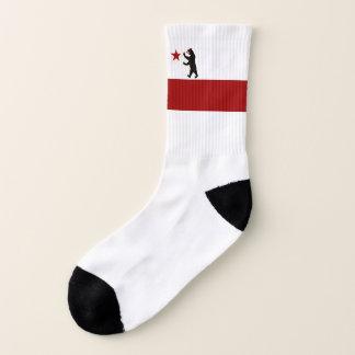 California Historic Storm Flag All over Print Sock Socks
