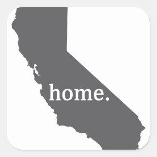 California Home Products Square Sticker
