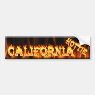 california hottie bumper sticker