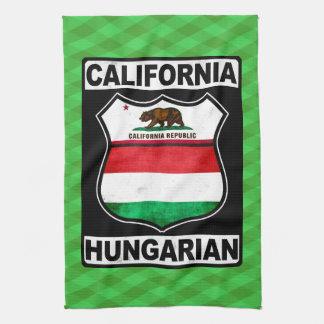 California Hungarian American Tea Towel