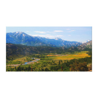 California HWY 108 Sonora Pass Canvas Print