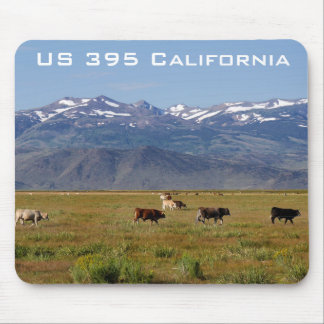 California HWY 395 Landscape Mouse Pad