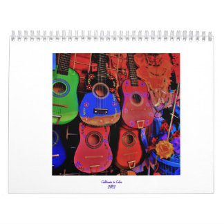 California in Color Wall Calendar