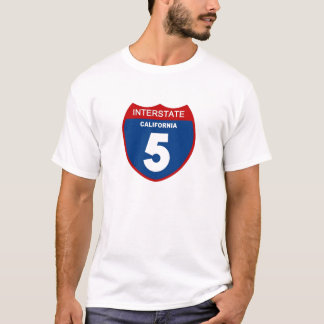 California interstate 5 T-Shirt