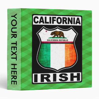 California Irish American Binder
