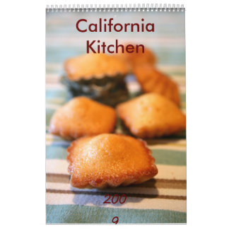 California Kitchen Wall Calendars