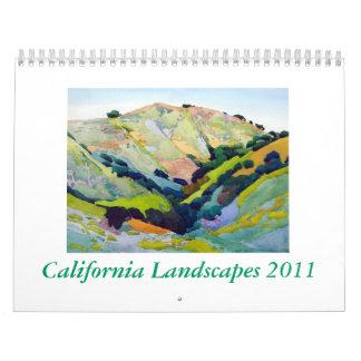California Landscapes 2011 Calendars