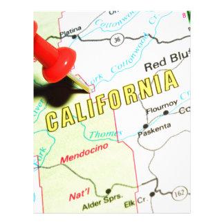 California Letterhead