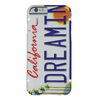 California License Plate iPhone 6 Case