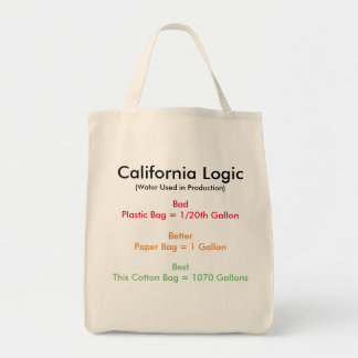 California Logic Tote Bag