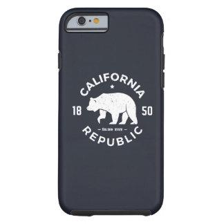 California Logo | The Golden State Tough iPhone 6 Case