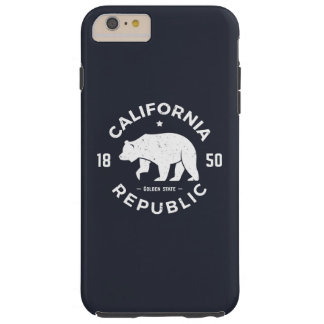 California Logo | The Golden State Tough iPhone 6 Plus Case