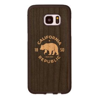 California Logo | The Golden State Wood Samsung Galaxy S7 Edge Case