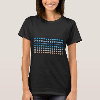 California Love Beach Hearts T-Shirt