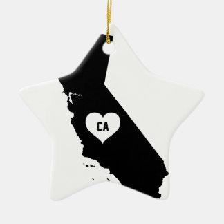 California Love Ceramic Ornament