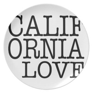 California Love Plates (Black/White)