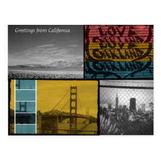 California Love! Postcard