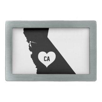 California Love Rectangular Belt Buckle