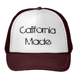 California Made, Trucker Hat