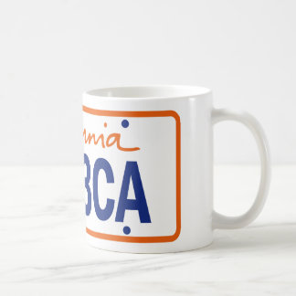 CALIFORNIA MEDAL LOVE REGISTRATION COFFEE MUG