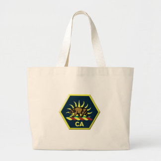 California Military Reserve Large Tote Bag