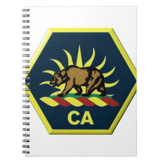 California Military Reserve Notebook