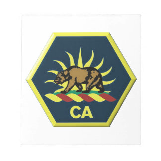 California Military Reserve Notepad