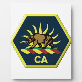 California Military Reserve Plaque