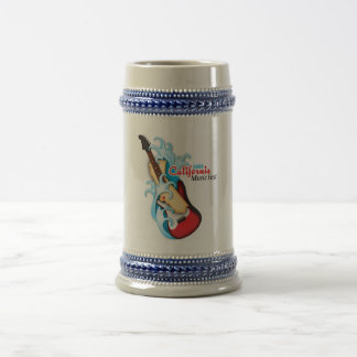 "California Music Fest ""Official"" Beer Stein"