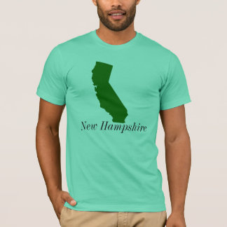 California, New Hampshire T-Shirt