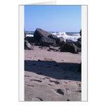 California Ocean Rocks Card