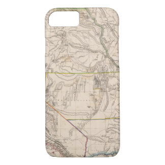 California, Oregan, Utah, New Mexico iPhone 7 Case