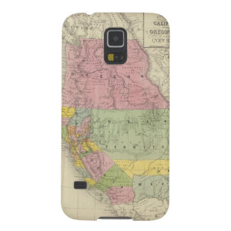 California, Oregon, Utah, New Mexico 3 Galaxy S5 Cases